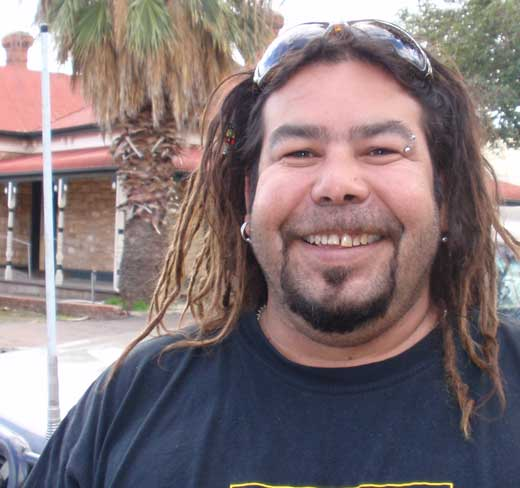 Jimmy Perry Indigenous Drug and Alcohol Worker